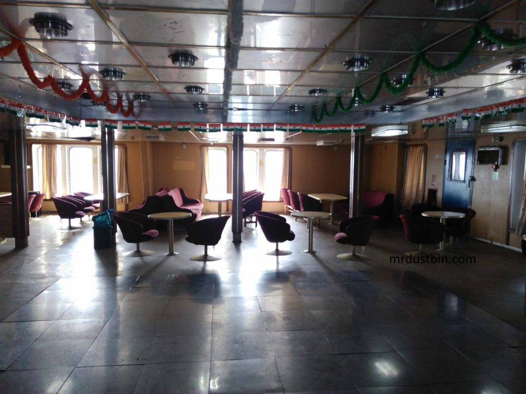 Cafeteria in Ship