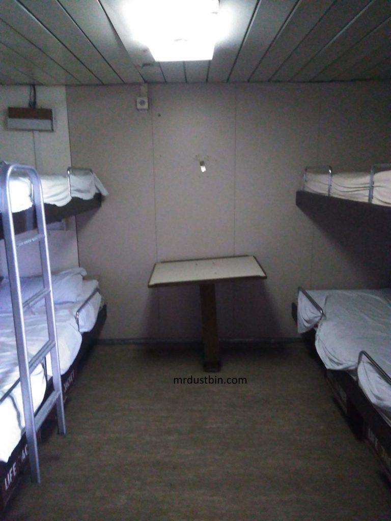 1st class cabin in ship