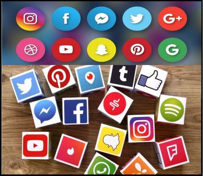 सोशल मीडिया के प्रकार और प्रत्येक मीडिया के लाभ