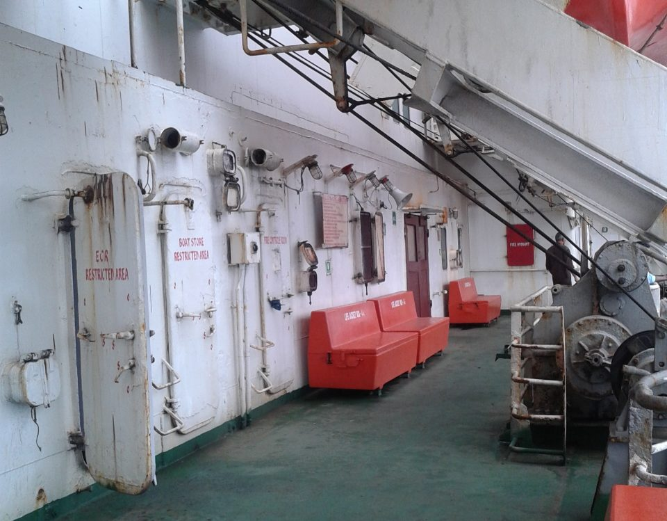 Bunk class in ship Deluxe and Cabin in Andaman