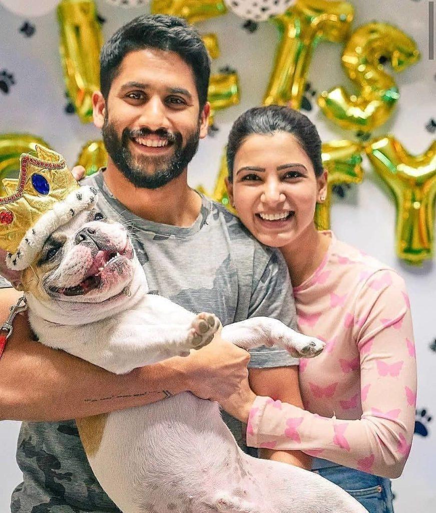 समंता अक्कीनेनी पति नागा चैतन्य के साथ