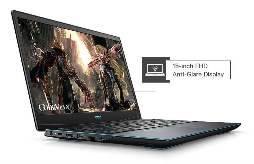 best laptop under 1 lakh in India 2020-Dell Gaming-G3 3590