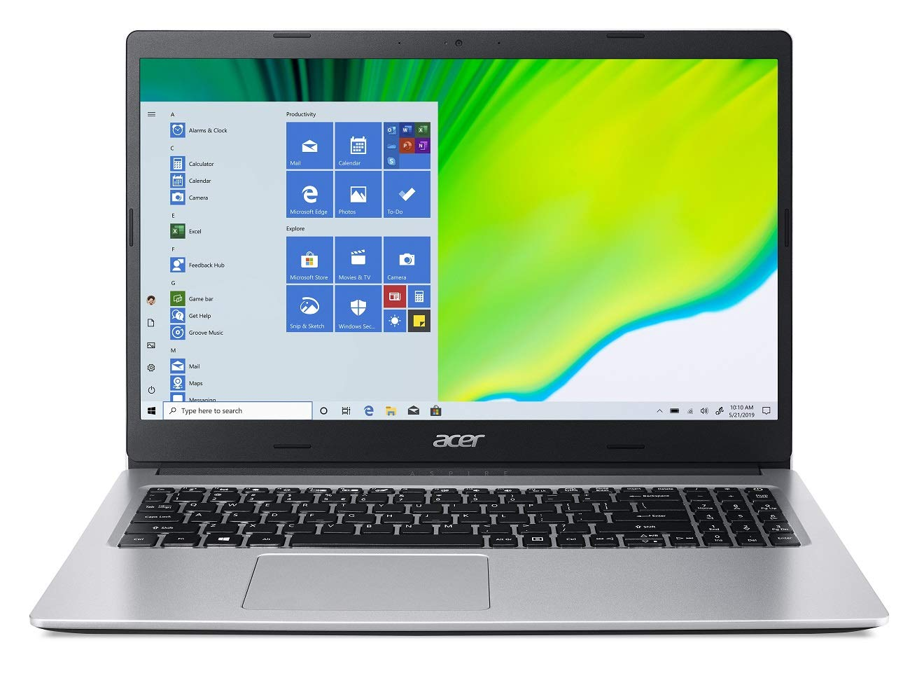 best laptop under 45000 2020 in India Acer Aspire 3 A315-23 15.6